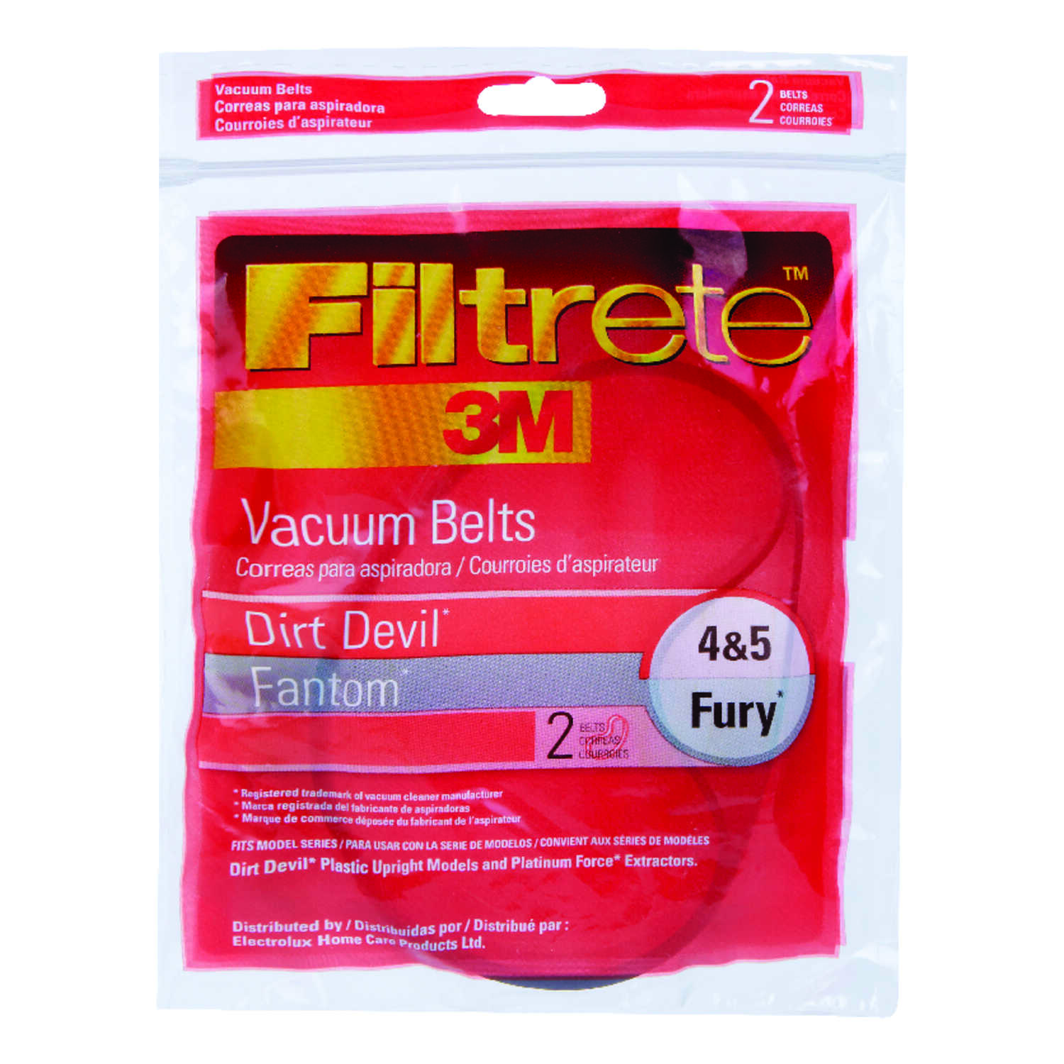 3M  Filtrete  Vacuum Belt  For attaches to vacuum 2 pk