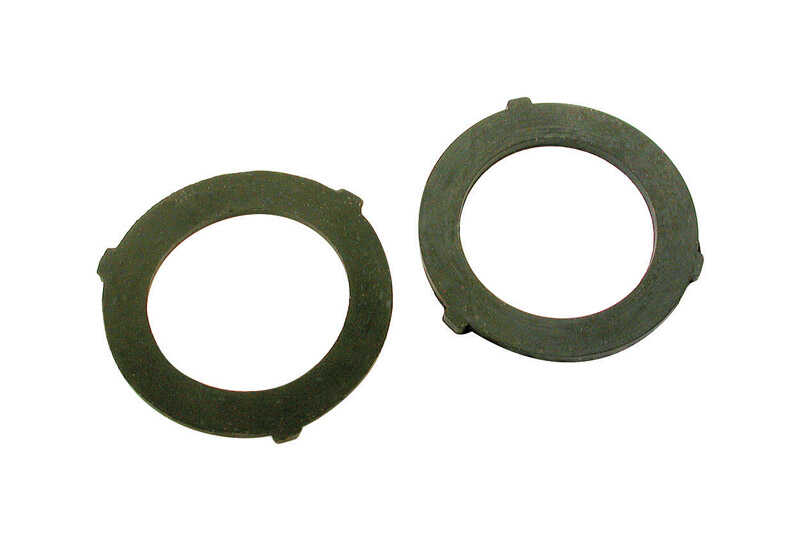 Dial  1-3/16 in. H x 1-3/16 in. W Rubber  Black  Rubber Washers