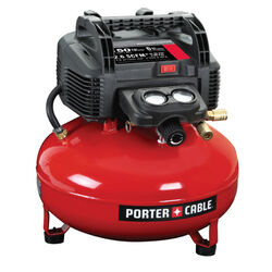 Porter Cable  6 gal. Pancake  Portable Air Compressor  150 psi 0.8 hp