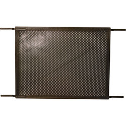 Prime-Line  Bronze  Plastic  Screen Door Grille  1 pc.