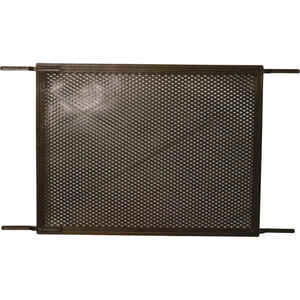 Prime-Line  Bronze  Plastic  Screen Door Grille  1 pk