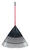 Ace  69.75 in. L x 30 in. W Poly  Rake  Fiberglass Handle