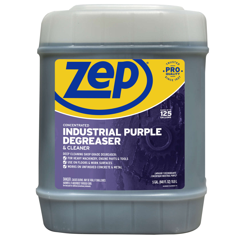 Zep Commercial Mild Scent Heavy Duty Degreaser 5 Gal