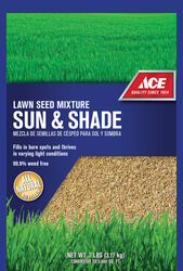 Ace  Mixed  Sun/Shade  Lawn Seed Mixture  7 lb.