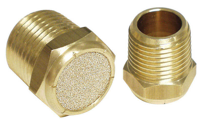 Apache  Brass  Breather Vent  1/2 in. Dia. 1 pk