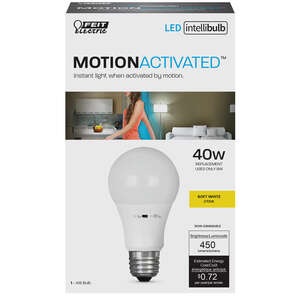 FEIT Electric  Intellibulb  6 watts A19  LED Bulb  450 lumens Soft White  40 Watt Equivalence A-Line