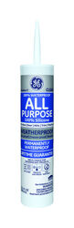 GE  Silicone 1  Clear  Silicone 1  All Purpose  Caulk  10.1 oz.