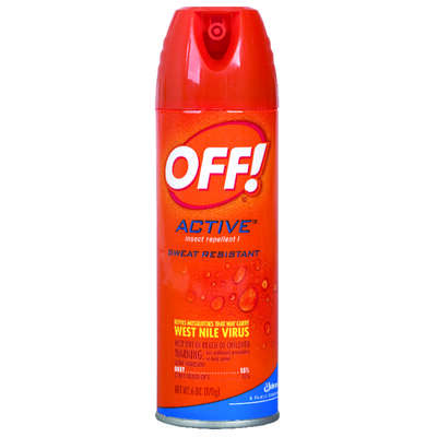 OFF!  Insect Repellent  Liquid  For Mosquitoes, Flies, Fleas, Mosquitoes/Other Flying Insects 6 oz.