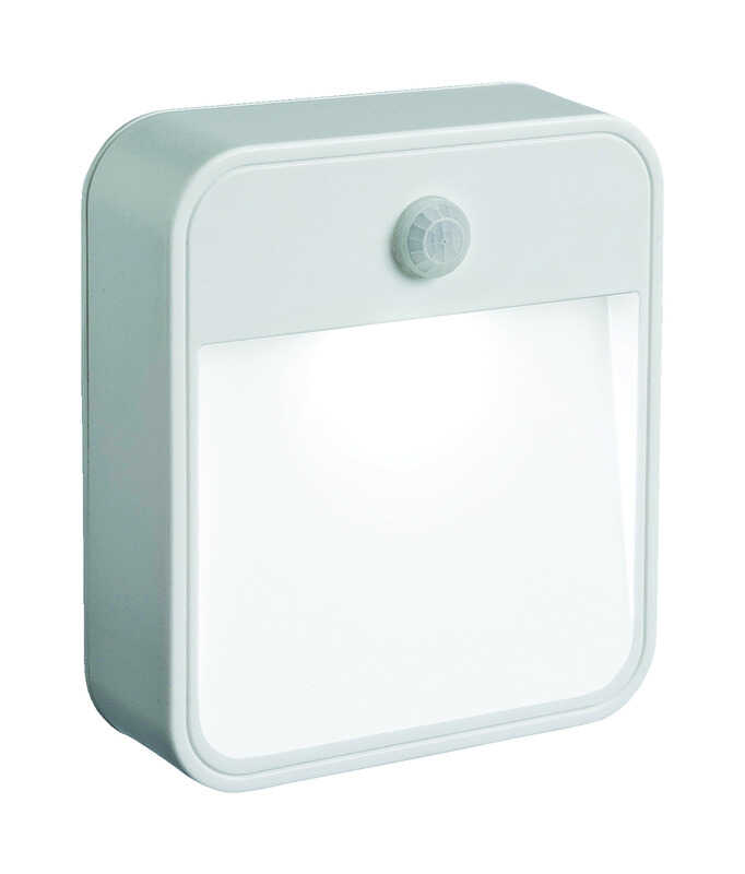 Mr. Beams  Motion-Sensing  Battery Powered  White  Area Light