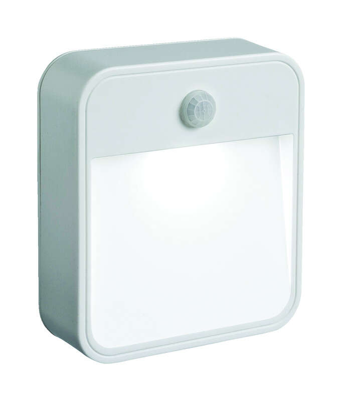 Mr. Beams  Motion-Sensing  Battery Powered  LED  White  Area Light