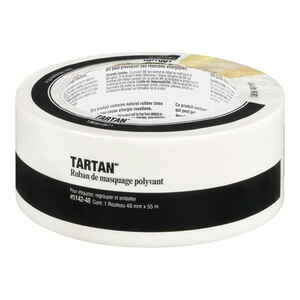 Tartan  1.88 in. W x 60 yd. L Tan  High Strength  Masking Tape  1 pk
