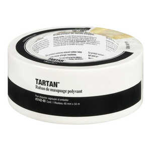 Tartan  60 yd. L x 1.88 in. W High Strength  1 pk Masking Tape  Tan