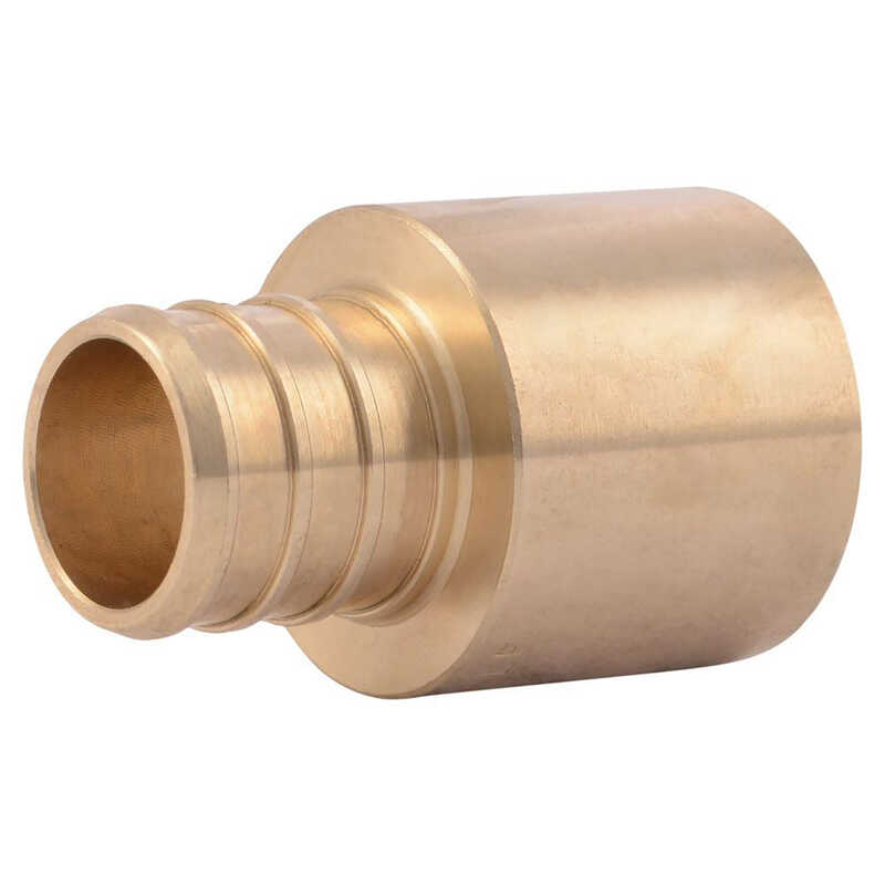 SharkBite  3/4 in. PEX   x 3/4 in. Dia. Sweat-F  Adapter  Bronze