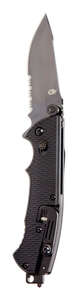 Gerber  Hinderer CLS  Black  440 Stainless Steel  8.5 in. Knife