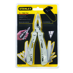 Stanley  Folding  Multi-Functional Tools  Silver  1 pc.