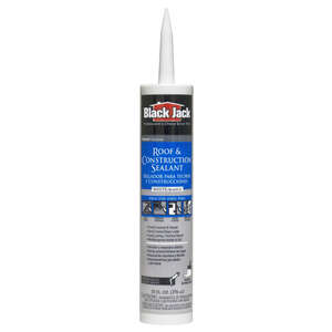 Black Jack  Gloss  White  Elastomeric  Elastomeric Roof Patch  10.1 oz.