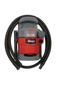 Craftsman  5 gal. Corded  Wet/Dry Vacuum  5 hp 5 amps 120 volt Red  25 lb.
