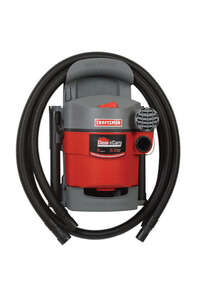 Craftsman  5 gal. Corded  Wet/Dry Vacuum  5 hp 5 amps 120 volts Red  25 lb. 1 pc.