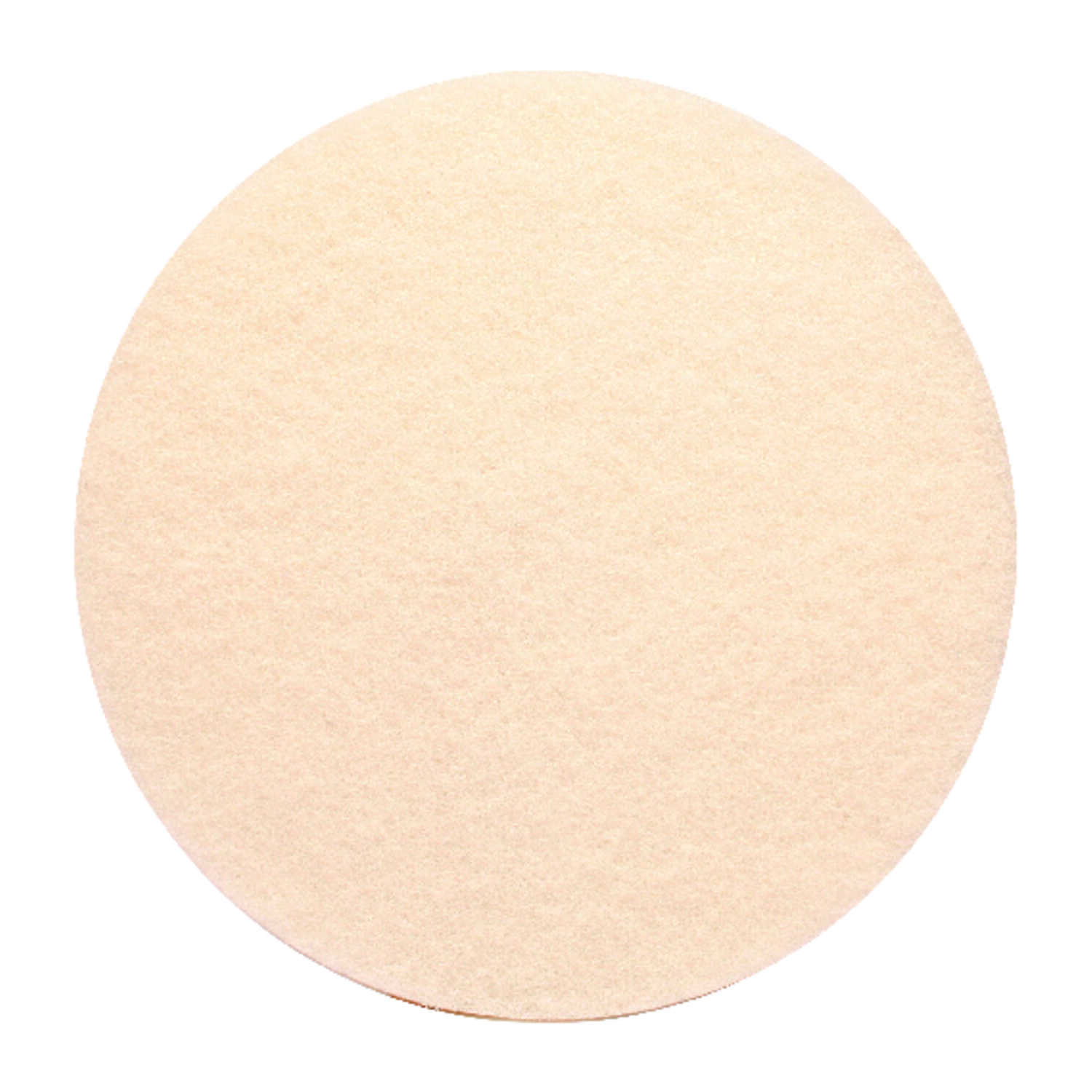 Gator  13 in. Dia. Floor Pad Disc White  White  Non-Woven Natural/Polyester Fiber