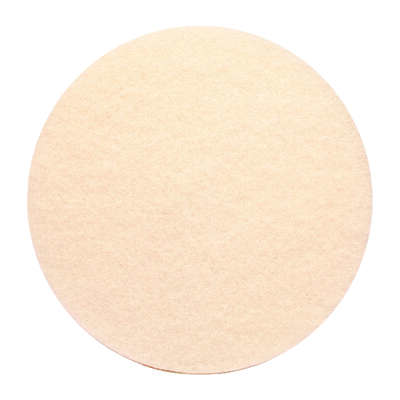 Gator  13 in. Dia. Non-Woven Natural/Polyester Fiber  Floor Pad Disc  White