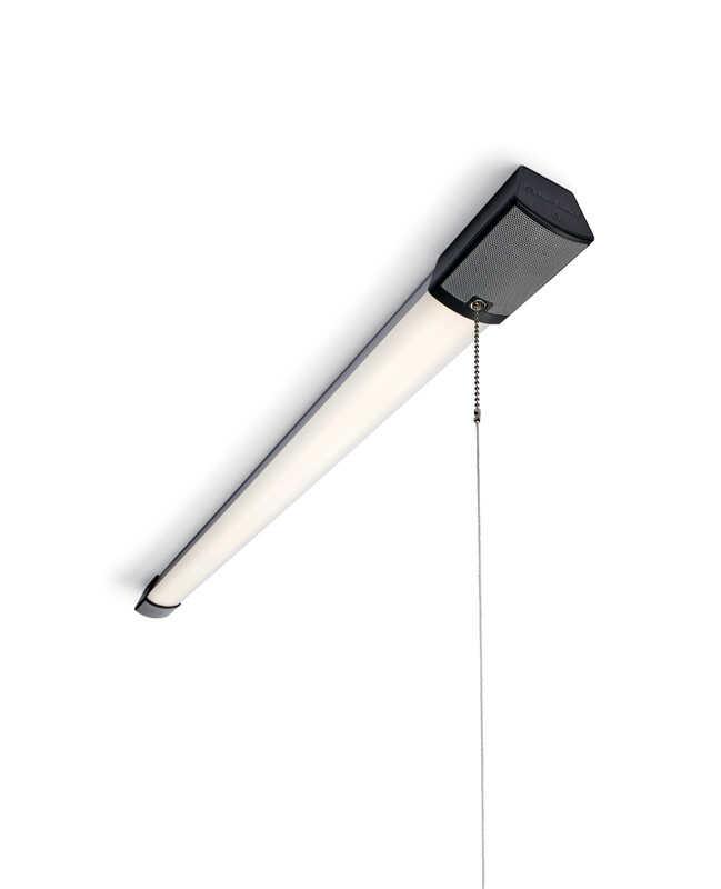 Metalux 31 Watts Shop Light W/ Bluetooth Speakers LED 43-1