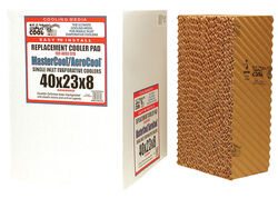 Dial  23 in. H x 40 in. W Cellulose  Brown  Evaporative Cooler Rigid Media