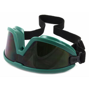 Forney  Barricade  2.2 in. L x 6.5 in. W Anti-Fog Oxy-Acetylene Welding Goggles  Black  #5 Shade Num