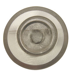 Danco  2-1/2 in. Chrome  Stainless Steel  Kitchen Sink Strainer