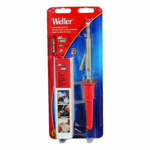 Weller  Cooper Tools  11.8 in. Corded  Soldering Gun Kit  80 watts Orange  1