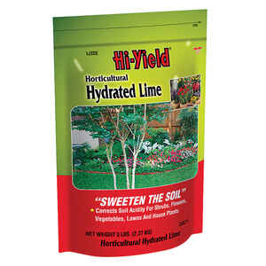 Hi-Yield  Hydrated Lime  150 sq. ft. 5 sq. ft.