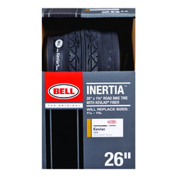 Bell Sports  Inertia  26 in. Rubber  Bicycle Tire  1 pk