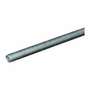 Boltmaster  3/8-16 in. Dia. x 72 in. L Steel  Threaded Rod