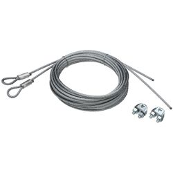 National Hardware  5/32 in. Dia. x 14 ft. L Galvanized  Steel  Spring Lift Cables