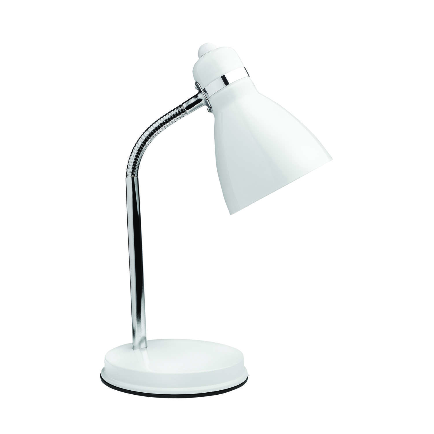 Newhouse Lighting  Oxford  13 in. White  Desk Lamp