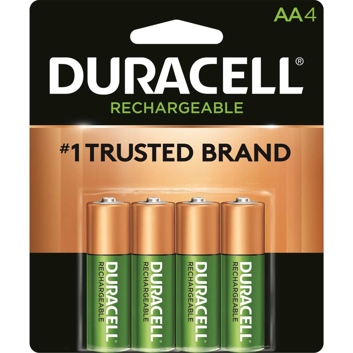 Duracell  Rechargeable  AA  1.4 volt DCNLAA4BCD  Rechargeable Battery  4 pk NiMH