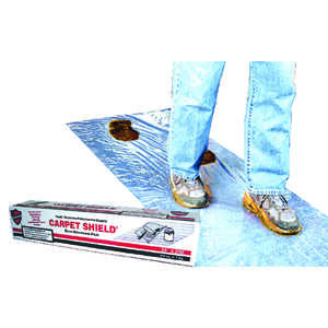 Surface Shields  Carpet Shield  Self-Adhering Film  3 mil  x 24 ft. W x 200 ft. L Polyethylene  Clea