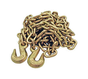 Baron  G43  Welded  Steel  Binder Chain  5/16 in. Dia. x 16 ft. L