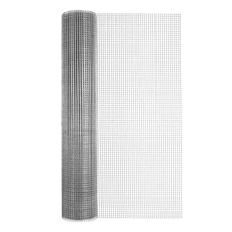 L Silver Gray Steel Hardware Cloth