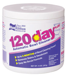 Blue Ribbon  120 Day  Clean Scent Automatic Toilet Bowl Cleaner  14 oz. Powder
