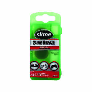 Slime  Rubber  Bike Tire Patch Kit  Green