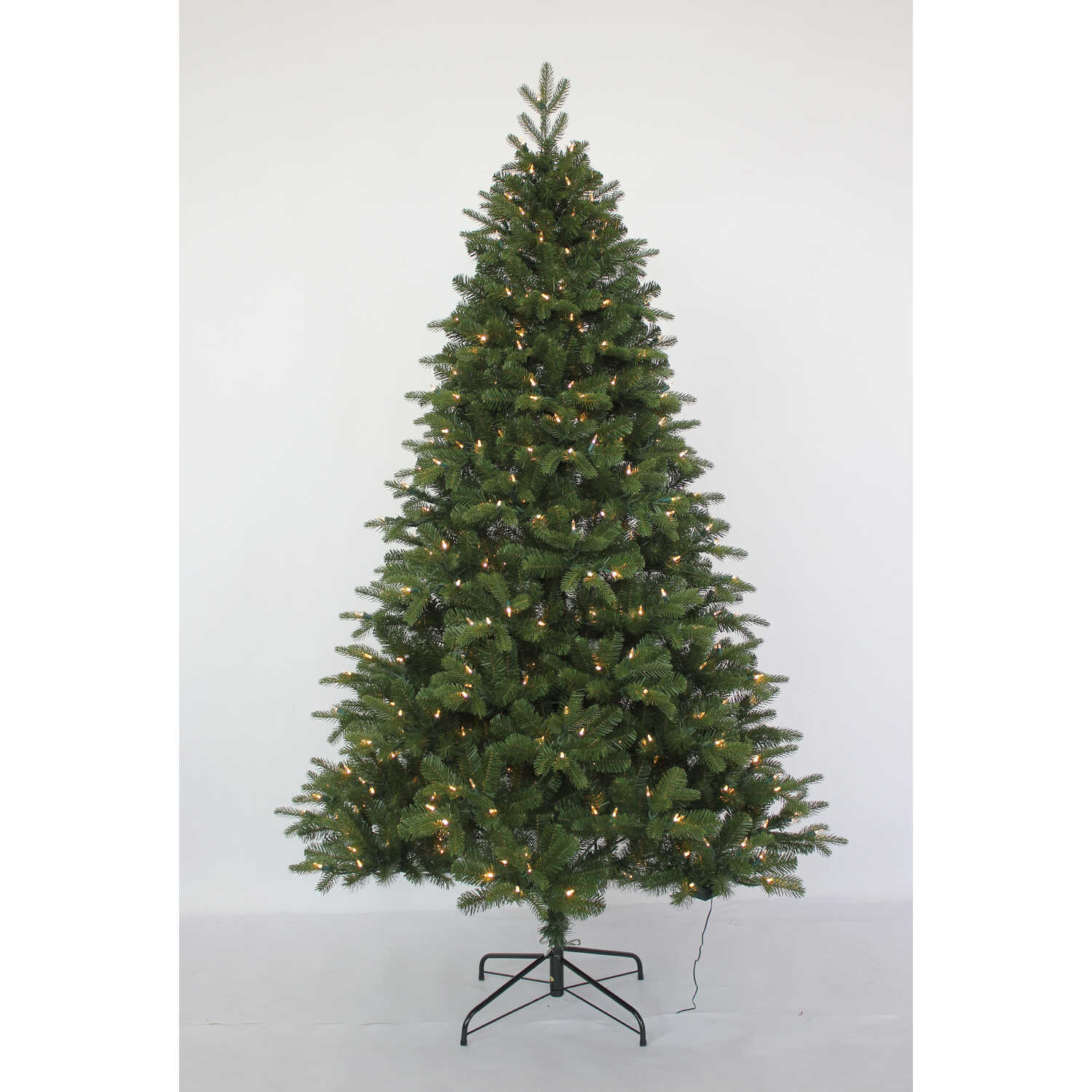 Celebrations  Color Changing  Prelit 7 ft. Echo Valley  LED Artificial Tree  450 lights 1538 tips