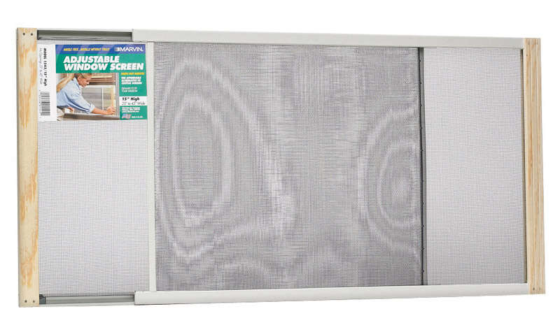 Frost King  25 To 45 in. W  Steel  Adjustable Window Screen