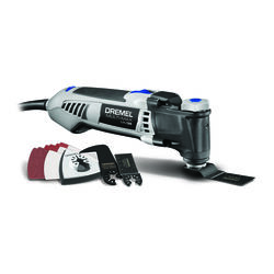 Dremel  Multi-Max  3.5 amps 120 volt Corded  Oscillating Multi-Tool  Kit 21000 opm Gray  14 pc.