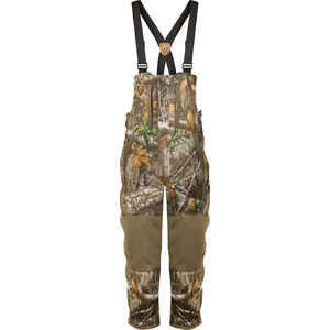 Drake  Silencer  Men's  Hunting Bib  M  Realtree Edge
