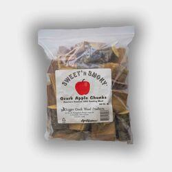 Chigger Creek  Sweet 'N Smoky  All Natural Ozark Apple  Wood Smoking Chunks  300 cu. in.