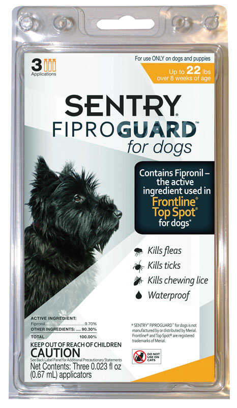 Sentry  Liquid  Flea Treatment  9.8% Fibronil, 8.8% (S)-methoprene