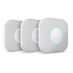 Google  Nest  Battery-Powered  Split-Spectrum  Smoke and Carbon Monoxide Detector