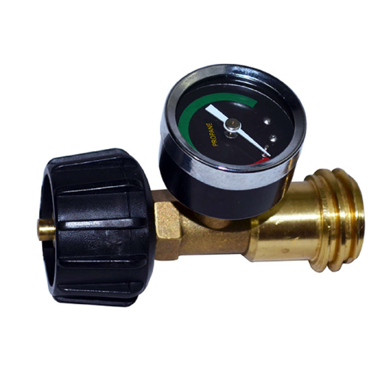 Mr. Heater  Brass/Plastic  Propane Gauge / Leak Detector