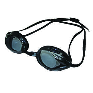 Aqua Leisure  Black  Silicone  Junior Goggles
