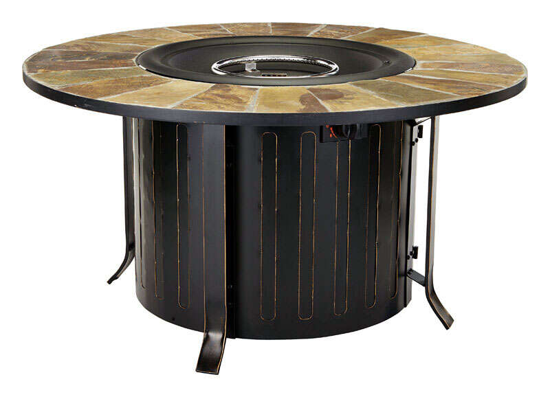 Bond Manufacturing  Montini  Propane  Fire Table  24 in. H x 46 in. W x 46 in. D Steel